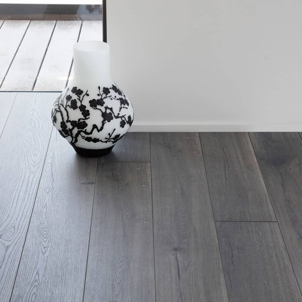 dark grey laminate flooring