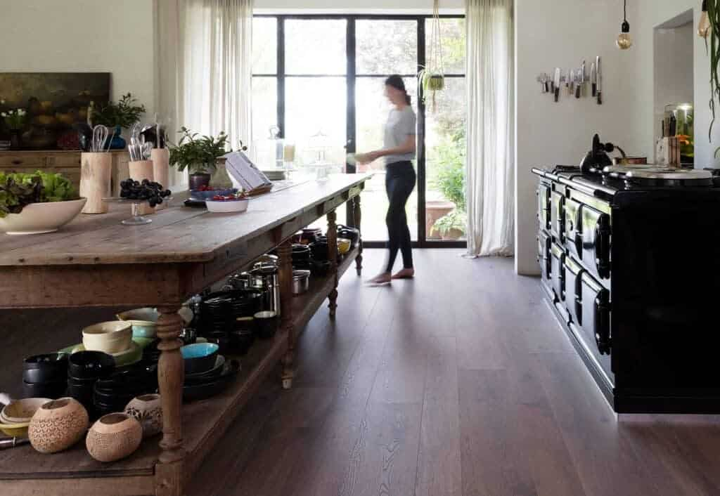 Wood Flooring Trends for the Kitchen