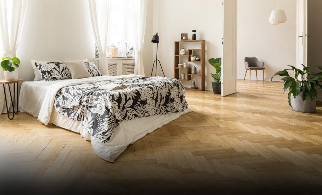 Herringbone Flooring example